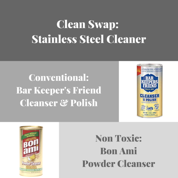 Insta Clean swap_ Stainless Steel Cleaner