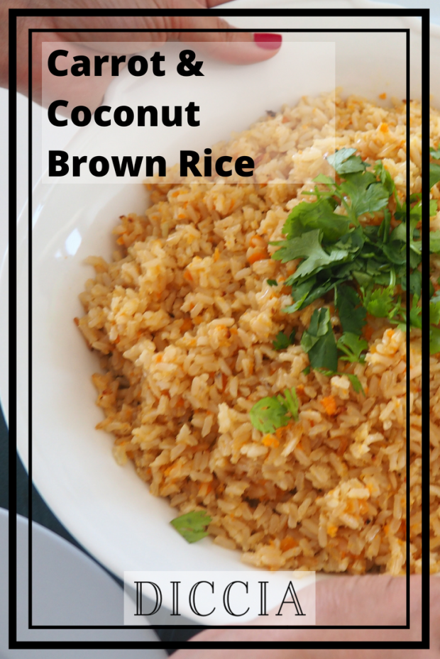 Pinterest_ Coconut Carrot Rice